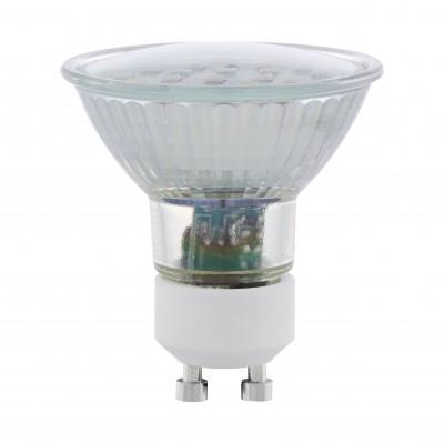 Eglo 11535 Лампа светодиодная SMDЗеркальные Gu10<br>В интернет-магазине «Светодом» можно купить не только люстры и светильники, но и лампочки. В нашем каталоге представлены светодиодные, галогенные, энергосберегающие модели и лампы накаливания. В ассортименте имеются изделия разной мощности, поэтому у нас Вы сможете приобрести все необходимое для освещения.   Лампа Eglo 11535 SMD обеспечит отличное качество освещения. При покупке ознакомьтесь с параметрами в разделе «Характеристики», чтобы не ошибиться в выборе. Там же указано, для каких осветительных приборов Вы можете использовать лампу Eglo 11535 SMDEglo 11535 SMD.   Для оформления покупки воспользуйтесь «Корзиной». При наличии вопросов Вы можете позвонить нашим менеджерам по одному из контактных номеров. Мы доставляем заказы в Москву, Екатеринбург и другие города России.<br><br>Цветовая t, К: WW - теплый белый 2700-3000 К<br>Тип лампы: LED - светодиодная<br>Тип цоколя: GU10<br>MAX мощность ламп, Вт: 5