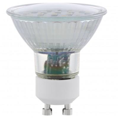 Eglo 11536 Лампа светодиодная SMDЗеркальные Gu10<br>В интернет-магазине «Светодом» можно купить не только люстры и светильники, но и лампочки. В нашем каталоге представлены светодиодные, галогенные, энергосберегающие модели и лампы накаливания. В ассортименте имеются изделия разной мощности, поэтому у нас Вы сможете приобрести все необходимое для освещения.   Лампа Eglo 11536 SMD обеспечит отличное качество освещения. При покупке ознакомьтесь с параметрами в разделе «Характеристики», чтобы не ошибиться в выборе. Там же указано, для каких осветительных приборов Вы можете использовать лампу Eglo 11536 SMDEglo 11536 SMD.   Для оформления покупки воспользуйтесь «Корзиной». При наличии вопросов Вы можете позвонить нашим менеджерам по одному из контактных номеров. Мы доставляем заказы в Москву, Екатеринбург и другие города России.<br><br>Цветовая t, К: CW - холодный белый 4000 К<br>Тип лампы: LED - светодиодная<br>Тип цоколя: GU10<br>MAX мощность ламп, Вт: 5
