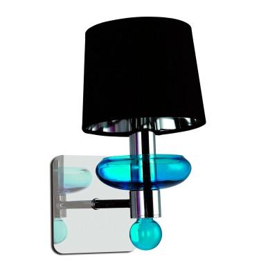Светильник настенный Divinare 1155/01 AP-1 VenetoМодерн<br><br><br>Тип лампы: Накаливания / энергосбережения / светодиодная<br>Тип цоколя: E14<br>Количество ламп: 1<br>MAX мощность ламп, Вт: 60<br>Диаметр, мм мм: 150<br>Длина, мм: 220<br>Высота, мм: 280<br>Цвет арматуры: серебристый