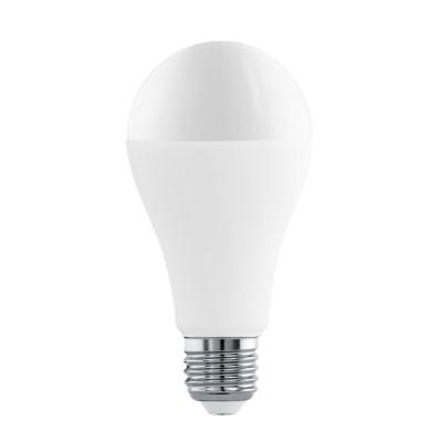 Eglo 11564 Лампа светодиодная A65, 16W (Е27), 4000K, 1521lmСветодиодные лампы LED с цоколем E27<br><br><br>Цветовая t, К: CW - холодный белый 4000 К<br>Тип лампы: LED<br>Тип цоколя: E27<br>MAX мощность ламп, Вт: 16