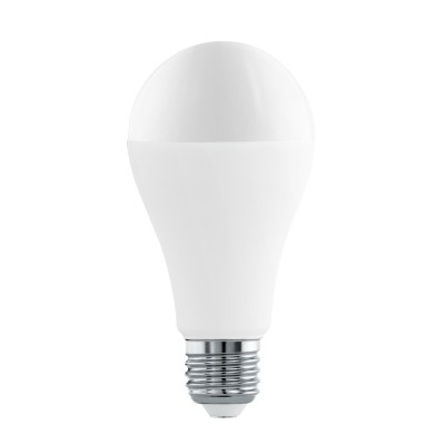Eglo 11564 Лампа светодиодная A65, 16W (Е27), 4000K, 1521lmСтандартный вид<br><br><br>Цветовая t, К: 4000<br>Тип лампы: LED<br>Тип цоколя: E27<br>MAX мощность ламп, Вт: 16