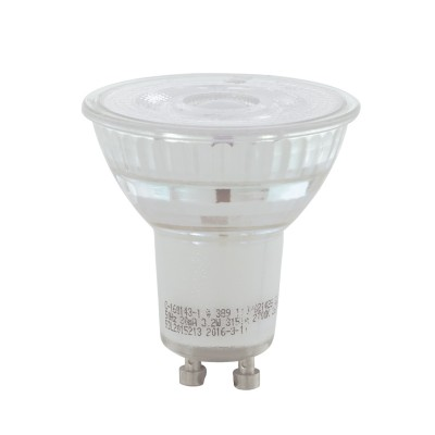 EGLO ИС 11575 Лампа светодиодная диммируемая COB, 5,2W(GU10), 3000K, 345lmЗеркальные Gu10<br><br><br>Тип лампы: LED<br>Тип цоколя: GU10<br>MAX мощность ламп, Вт: 5