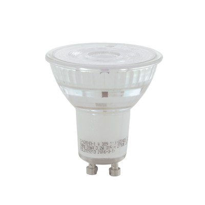 EGLO ИС 11576 Лампа светодиодная диммируемая COB, 5,2W(GU10), 4000K, 345lmЗеркальные Gu10<br><br><br>Цветовая t, К: 4000<br>Тип лампы: LED<br>Тип цоколя: GU10<br>MAX мощность ламп, Вт: 5<br>Диаметр, мм мм: 50<br>Высота, мм: 54