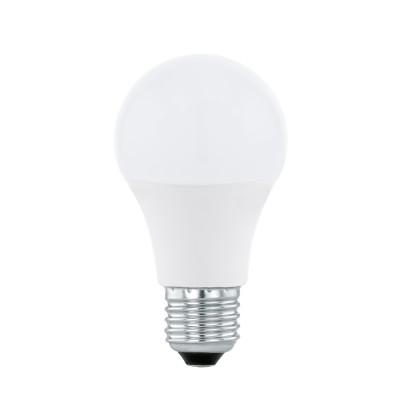 EGLO ИС 11585 Светодиодная лампа СONNECT RGB c пультом ДУ A60, 9W(E27), 806lmСтандартный вид<br><br><br>Цветовая t, К: RGB<br>Тип лампы: LED<br>Тип цоколя: E27<br>Диаметр, мм мм: 60<br>Высота, мм: 116<br>MAX мощность ламп, Вт: 9