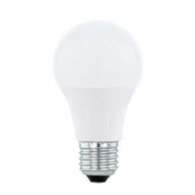 EGLO ИС 11586 Светодиодная лампа СONNECT RGB A60, 9W(E27), 806lmСтандартный вид<br><br><br>Тип лампы: LED<br>Тип цоколя: E27<br>Диаметр, мм мм: 60<br>Высота, мм: 116<br>MAX мощность ламп, Вт: 9