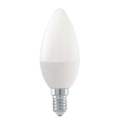 11711 Eglo - Светодиодная лампа RW СвечаЛампы с цоколем e14<br><br><br>Цветовая t, К: 2700 - 4000<br>Тип лампы: LED - светодиодная<br>Тип цоколя: E14<br>Диаметр, мм мм: 37<br>Высота, мм: 106<br>MAX мощность ламп, Вт: 5