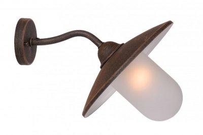 Настенный уличный светильник Lucide 11870/01/97 ARUBAУличные настенные светильники<br>Обеспечение качественного уличного освещения – важная задача для владельцев коттеджей. Компания «Светодом» предлагает современные светильники, которые порадуют Вас отличным исполнением. В нашем каталоге представлена продукция известных производителей, пользующихся популярностью благодаря высокому качеству выпускаемых товаров.   Уличный светильник Lucide 11870/01/97 не просто обеспечит качественное освещение, но и станет украшением Вашего участка. Модель выполнена из современных материалов и имеет влагозащитный корпус, благодаря которому ей не страшны осадки.   Купить уличный светильник Lucide 11870/01/97, представленный в нашем каталоге, можно с помощью онлайн-формы для заказа. Чтобы задать имеющиеся вопросы, звоните нам по указанным телефонам.<br><br>Тип лампы: накаливания / энергосбережения / LED-светодиодная<br>Тип цоколя: E27<br>Цвет арматуры: ржаво-коричневый<br>Количество ламп: 1<br>Длина, мм: 370<br>Высота, мм: 240<br>Оттенок (цвет): белый<br>MAX мощность ламп, Вт: 14