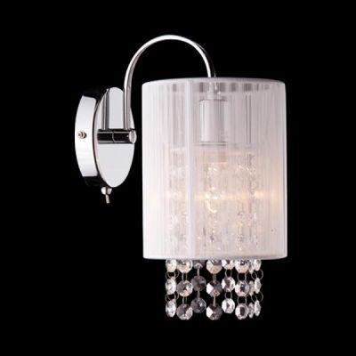 Светильник бра Евросвет 1188/1B хромХрустальные<br><br><br>Тип лампы: накаливания / энергосбережения / LED-светодиодная<br>Тип цоколя: E14<br>Цвет арматуры: серебристый<br>Количество ламп: 1/1<br>Ширина, мм: 195<br>Длина, мм: 120<br>Высота, мм: 240<br>MAX мощность ламп, Вт: 60
