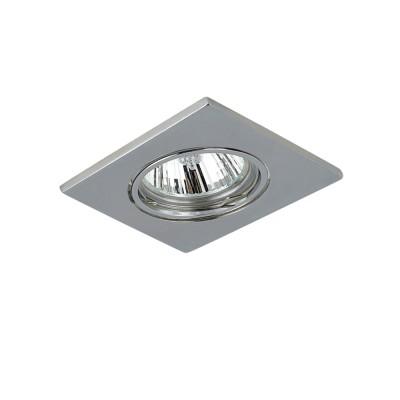 Lightstar LEGA16 11934 СветильникКвадратные<br>Встраиваемые светильники – популярное осветительное оборудование, которое можно использовать в качестве основного источника или в дополнение к люстре. Они позволяют создать нужную атмосферу атмосферу и привнести в интерьер уют и комфорт. <br> Интернет-магазин «Светодом» предлагает стильный встраиваемый светильник Lightstar 11934. Данная модель достаточно универсальна, поэтому подойдет практически под любой интерьер. Перед покупкой не забудьте ознакомиться с техническими параметрами, чтобы узнать тип цоколя, площадь освещения и другие важные характеристики. <br> Приобрести встраиваемый светильник Lightstar 11934 в нашем онлайн-магазине Вы можете либо с помощью «Корзины», либо по контактным номерам. Мы развозим заказы по Москве, Екатеринбургу и остальным российским городам.<br><br>Тип лампы: галогенная/LED<br>Тип цоколя: MR16 gu5.3/HP16<br>Цвет арматуры: серебристый<br>Размеры: L 85 W 85 Встраиваемая высота<br>MAX мощность ламп, Вт: 50