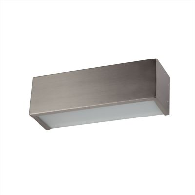 Светильник бра Colosseo 12001/1Хай-тек<br><br><br>S освещ. до, м2: 4<br>Крепление: планка<br>Тип лампы: накаливания / энергосбережения / LED-светодиодная<br>Тип цоколя: E27<br>Количество ламп: 1<br>Ширина, мм: 285<br>MAX мощность ламп, Вт: 60<br>Расстояние от стены, мм: 80<br>Высота, мм: 90<br>Цвет арматуры: серый