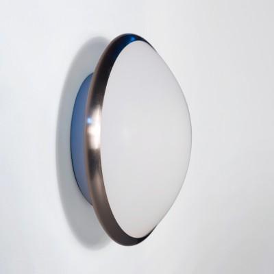 Светильник Lamplandia 12003-28 aquaКруглые<br>Настенно-потолочный светильник. Выполнен из металлического основания цвета матовый хром с плафоном из матового стекла.<br><br>S освещ. до, м2: 13<br>Крепление: потолочный / настенный<br>Тип лампы: накаливания / энергосбережения / LED-светодиодная<br>Тип цоколя: E27<br>Количество ламп: 2<br>MAX мощность ламп, Вт: 100<br>Диаметр, мм мм: 270<br>Высота, мм: 110<br>Цвет арматуры: серый