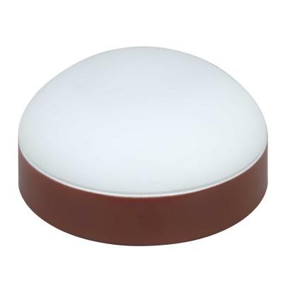 Светильник Lamplandia 12033Круглые<br>Настенно-потолочный светильник. Выполнен из металлического основания коричневого цвета с плафоном из матового стекла.<br><br>S освещ. до, м2: 5<br>Крепление: потолочный / настенный<br>Тип товара: Светильник настенно-потолочный<br>Тип лампы: галогенная / LED-светодиодная<br>Тип цоколя: R7s 78mm<br>Количество ламп: 1<br>MAX мощность ламп, Вт: 75<br>Диаметр, мм мм: 180<br>Высота, мм: 80<br>Цвет арматуры: коричневый