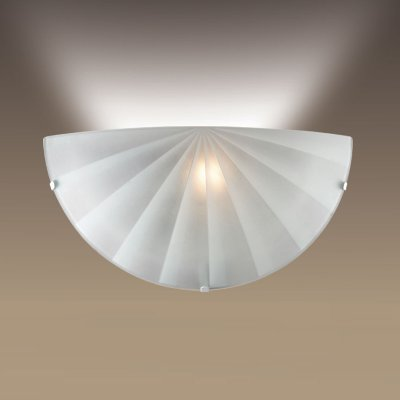 Светильник бра Сонекс 1204/A белый FOSSAСовременные<br><br><br>S освещ. до, м2: 4<br>Тип лампы: накаливания / энергосбережения / LED-светодиодная<br>Тип цоколя: E27<br>Цвет арматуры: белый<br>Количество ламп: 1<br>Ширина, мм: 300<br>MAX мощность ламп, Вт: 60