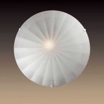 Настенно-потолочный светильник Сонекс 1204/L белый FOSSAКруглые<br><br><br>S освещ. до, м2: 4<br>Тип товара: Светильник настенно-потолочный<br>Тип лампы: накаливания / энергосбережения / LED-светодиодная<br>Тип цоколя: E27<br>Количество ламп: 1<br>MAX мощность ламп, Вт: 60<br>Диаметр, мм мм: 300