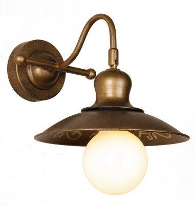 Светильник Favourite 1214-1wбра в стиле лофт<br><br><br>S освещ. до, м2: 4<br>Тип лампы: накаливания / энергосбережения / LED-светодиодная<br>Тип цоколя: E27<br>Цвет арматуры: коричневый<br>Количество ламп: 1<br>Ширина, мм: 225<br>Диаметр, мм мм: 280<br>Размеры: W225*D280*H170<br>Высота, мм: 170<br>MAX мощность ламп, Вт: 60