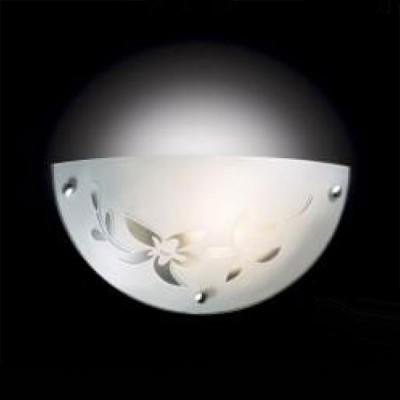 Светильник Сонекс 1214/A белый/хром RomaniaНакладные<br><br><br>S освещ. до, м2: 4<br>Тип лампы: накаливания / энергосбережения / LED-светодиодная<br>Тип цоколя: E27<br>Количество ламп: 1<br>Ширина, мм: 300<br>MAX мощность ламп, Вт: 60<br>Высота, мм: 150<br>Цвет арматуры: серебристый