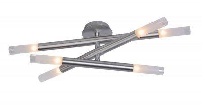 Люстра Lucide 12158/26/12 SLIMMERSснятые с производства светильники<br>Компания «Светодом» предлагает широкий ассортимент люстр от известных производителей. Представленные в нашем каталоге товары выполнены из современных материалов и обладают отличным качеством. Благодаря широкому ассортименту Вы сможете найти у нас люстру под любой интерьер. Мы предлагаем как классические варианты, так и современные модели, отличающиеся лаконичностью и простотой форм.  Стильная люстра Lucide 12158/26/12 станет украшением любого дома. Эта модель от известного производителя не оставит равнодушным ценителей красивых и оригинальных предметов интерьера. Люстра Lucide 12158/26/12 обеспечит равномерное распределение света по всей комнате. При выборе обратите внимание на характеристики, позволяющие приобрести наиболее подходящую модель. Купить понравившуюся люстру по доступной цене Вы можете в интернет-магазине «Светодом». Мы предлагаем доставку не только по Москве и Екатеринбурге, но и по всей России.<br><br>Установка на натяжной потолок: Да<br>S освещ. до, м2: 11<br>Крепление: Планка<br>Тип лампы: галогенная / LED-светодиодная<br>Тип цоколя: G9<br>Цвет арматуры: серый<br>Количество ламп: 6<br>Диаметр, мм мм: 260<br>Высота, мм: 1200<br>Оттенок (цвет): белый<br>MAX мощность ламп, Вт: 28
