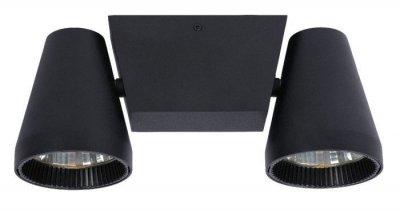 Потолочный светильник Lucide 12159/22/30 Celloснятые с производства светильники<br><br><br>Тип лампы: LED - светодиодная<br>Тип цоколя: LED<br>Цвет арматуры: черный<br>Количество ламп: 2<br>Ширина, мм: 45<br>Длина, мм: 300<br>Высота, мм: 130<br>MAX мощность ламп, Вт: 6