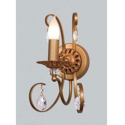 Светильник бра Favourite 1221-1WСовременные<br><br><br>S освещ. до, м2: 4<br>Тип лампы: накаливания / энергосбережения / LED-светодиодная<br>Тип цоколя: E14<br>Цвет арматуры: коричневый<br>Количество ламп: 1<br>Размеры: W160*H310*D200<br>Расстояние от стены, мм: 200<br>MAX мощность ламп, Вт: 60