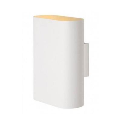 Светильник Lucide 12219/02/31Хай-тек<br><br><br>Тип лампы: Накаливания / энергосбережения / светодиодная<br>Тип цоколя: E14<br>Количество ламп: 2<br>Ширина, мм: 80<br>Высота, мм: 200<br>MAX мощность ламп, Вт: 40