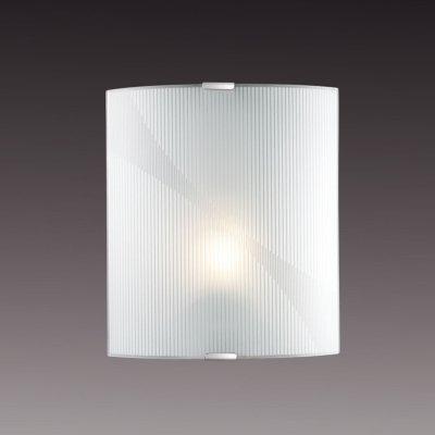 Светильник бра Сонекс 1225/М никель/белый ARBAKOНакладные<br><br><br>S освещ. до, м2: 4<br>Тип лампы: накаливания / энергосбережения / LED-светодиодная<br>Тип цоколя: E27<br>Количество ламп: 1<br>Ширина, мм: 224<br>MAX мощность ламп, Вт: 60<br>Высота, мм: 260<br>Цвет арматуры: серый