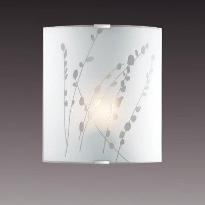 Светильник бра Сонекс 1228/M никель/белый MAREAНакладные<br><br><br>S освещ. до, м2: 4<br>Тип товара: Светильник настенный бра<br>Скидка, %: 40<br>Тип лампы: накаливания / энергосбережения / LED-светодиодная<br>Тип цоколя: E27<br>Количество ламп: 1<br>Ширина, мм: 224<br>MAX мощность ламп, Вт: 60<br>Высота, мм: 260<br>Цвет арматуры: серый