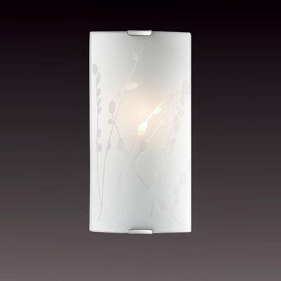Светильник бра Сонекс 1228/S никель/белый MAREAНакладные<br><br><br>S освещ. до, м2: 4<br>Тип лампы: накаливания / энергосбережения / LED-светодиодная<br>Тип цоколя: E14<br>Количество ламп: 1<br>Ширина, мм: 115<br>MAX мощность ламп, Вт: 60<br>Высота, мм: 250<br>Цвет арматуры: серый