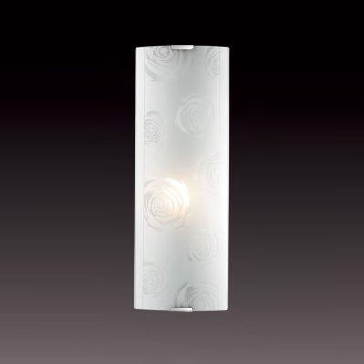 Светильник бра Сонекс 1229/L никель/белый PAVIAНакладные<br><br><br>S освещ. до, м2: 4<br>Тип лампы: накаливания / энергосбережения / LED-светодиодная<br>Тип цоколя: E14<br>Количество ламп: 1<br>Ширина, мм: 115<br>MAX мощность ламп, Вт: 60<br>Высота, мм: 350<br>Цвет арматуры: серый