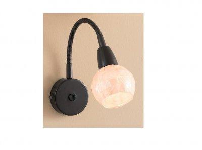 Citilux Соната CL520315 Светильник настенный браСветильники на гибкой ножке<br><br><br>S освещ. до, м2: 4<br>Тип лампы: накаливания / энергосбережения / LED-светодиодная<br>Тип цоколя: E14<br>Цвет арматуры: коричневый<br>Количество ламп: 1<br>Ширина, мм: 115<br>Размеры: С выключателем, Длина гибкой части 22см, Размер головки 11,5см, Рассеиватель из перламутровых элементов<br>Длина, мм: 220<br>Высота, мм: 200<br>Поверхность арматуры: матовый<br>Оттенок (цвет): бежевый<br>MAX мощность ламп, Вт: 60