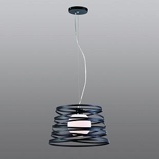Светильник Favourite 1234-1pПодвесные<br><br><br>Установка на натяжной потолок: Да<br>S освещ. до, м2: 4<br>Крепление: Планка<br>Тип товара: Люстра подвесная<br>Тип лампы: накаливания / энергосбережения / LED-светодиодная<br>Тип цоколя: E27<br>Количество ламп: 1<br>MAX мощность ламп, Вт: 60<br>Диаметр, мм мм: 380<br>Размеры: D380*H300/1100<br>Высота, мм: 300 - 1100<br>Цвет арматуры: черный