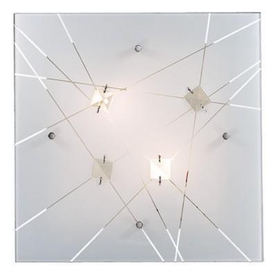 Светильник светодиодный Сонекс 1235/BL OPELI 24ВтКвадратные<br><br><br>S освещ. до, м2: 12<br>Цветовая t, К: 4000<br>Тип лампы: LED - светодиодная<br>Тип цоколя: LED<br>Цвет арматуры: белый<br>Ширина, мм: 300<br>Длина, мм: 300<br>Высота, мм: 90<br>Оттенок (цвет): белый<br>MAX мощность ламп, Вт: 24