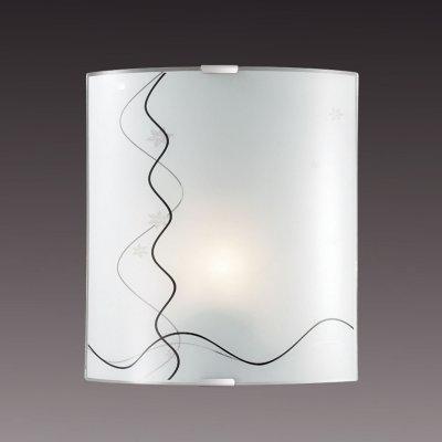 Светильник бра Сонекс 1237/M никель/белый/декор черн BIRONAНакладные<br><br><br>S освещ. до, м2: 4<br>Тип товара: Светильник настенный бра<br>Тип лампы: накаливания / энергосбережения / LED-светодиодная<br>Тип цоколя: E27<br>Количество ламп: 1<br>Ширина, мм: 224<br>MAX мощность ламп, Вт: 60<br>Высота, мм: 260<br>Цвет арматуры: серый