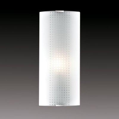 Светильник бра Сонекс 1238/L никель/белый STOROНакладные<br><br><br>S освещ. до, м2: 4<br>Тип лампы: накаливания / энергосбережения / LED-светодиодная<br>Тип цоколя: E14<br>Количество ламп: 1<br>Ширина, мм: 115<br>MAX мощность ламп, Вт: 60<br>Высота, мм: 350<br>Цвет арматуры: серый
