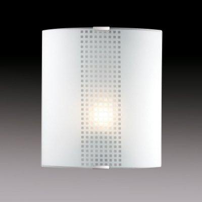 Светильник бра Сонекс 1238/M никель/белый STOROНакладные<br><br><br>S освещ. до, м2: 4<br>Тип лампы: накаливания / энергосбережения / LED-светодиодная<br>Тип цоколя: E27<br>Количество ламп: 1<br>Ширина, мм: 224<br>MAX мощность ламп, Вт: 60<br>Высота, мм: 260<br>Цвет арматуры: серый