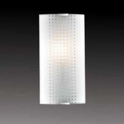 Светильник бра Сонекс 1238/S никель/белый STOROНакладные<br><br><br>S освещ. до, м2: 4<br>Тип лампы: накаливания / энергосбережения / LED-светодиодная<br>Тип цоколя: E14<br>Количество ламп: 1<br>Ширина, мм: 115<br>MAX мощность ламп, Вт: 60<br>Высота, мм: 250<br>Цвет арматуры: серый