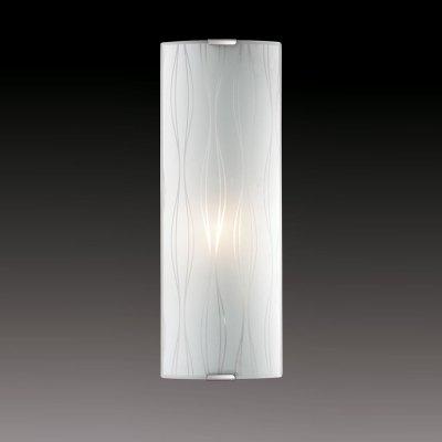 Светильник бра Сонекс 1239/L никель/белый TOSIНакладные<br><br><br>S освещ. до, м2: 4<br>Тип товара: Светильник настенный бра<br>Скидка, %: 37<br>Тип лампы: накаливания / энергосбережения / LED-светодиодная<br>Тип цоколя: E14<br>Количество ламп: 1<br>Ширина, мм: 115<br>MAX мощность ламп, Вт: 60<br>Высота, мм: 350<br>Цвет арматуры: серый