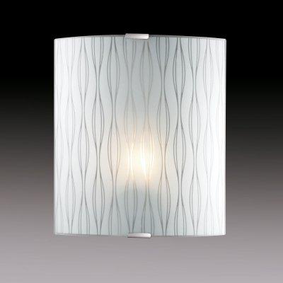 Светильник бра Сонекс 1239/M никель/белый TOSIНакладные<br><br><br>S освещ. до, м2: 4<br>Тип лампы: накаливания / энергосбережения / LED-светодиодная<br>Тип цоколя: E27<br>Количество ламп: 1<br>Ширина, мм: 224<br>MAX мощность ламп, Вт: 60<br>Высота, мм: 260<br>Цвет арматуры: серый