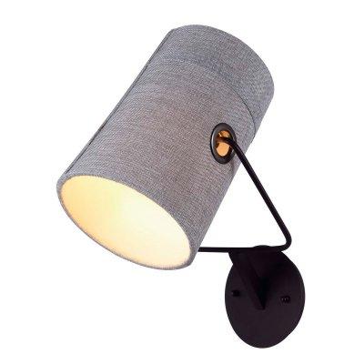 Светильник бра Favourite 1246-1WХай-тек<br><br><br>S освещ. до, м2: 6<br>Тип лампы: накаливания / энергосбережения / LED-светодиодная<br>Тип цоколя: E14<br>Количество ламп: 1<br>MAX мощность ламп, Вт: 25(CFL)<br>Размеры: W180*H400*D260<br>Цвет арматуры: серый