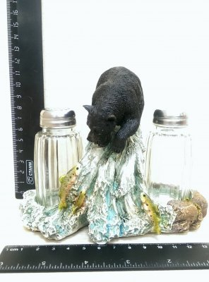 BS05778 Солонка Медведь на пнеПодарки и сувениры<br><br>