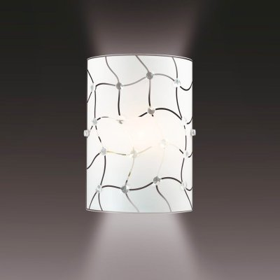 Светильник Сонекс 1270Накладные<br><br><br>Цвет арматуры: серебристый