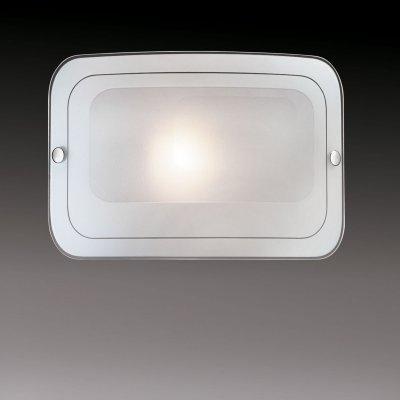 Светильник Сонекс 1271 хром TivuПрямоугольные<br>Настенно потолочный светильник Сонекс (Sonex) 1271  подходит как для установки в вертикальном положении - на стены, так и для установки в горизонтальном - на потолок. Для установки настенно потолочных светильников на натяжной потолок необходимо использовать светодиодные лампы LED, которые экономнее ламп Ильича (накаливания) в 10 раз, выделяют мало тепла и не дадут расплавиться Вашему потолку.<br><br>S освещ. до, м2: 4<br>Тип лампы: накаливания / энергосбережения / LED-светодиодная<br>Тип цоколя: E27<br>Цвет арматуры: серебристый<br>Количество ламп: 1<br>Ширина, мм: 295<br>Высота, мм: 200<br>MAX мощность ламп, Вт: 60