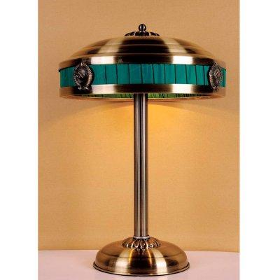Светильник настольный СССР Favourite 1274-3TВ стиле СССР<br>Настольная лампа – это не просто источник дополнительного освещения, но и оригинальный элемент декора. Его можно установить в спальне, гостиной, кабинете и других комнатах. Интернет-магазин «Светодом» предлагает настольные лампы разных стилей по доступным ценам. Благодаря большому ассортименту Вы обязательно найдете в нашем каталоге именно ту модель, которую искали.   Настольная лампа Favourite 1274-3T – прекрасный вариант для завершения интерьера. Ее можно включить одновременно с люстрой для более яркого освещения или без нее для создания уютной атмосферы, настраивающей на отдых.   Купить настольную лампу Favourite 1274-3T Вы можете с помощью виртуальной «Корзины» или по контактным номерам, указанным на сайте.<br><br>S освещ. до, м2: 8<br>Тип лампы: накаливания / энергосбережения / LED-светодиодная<br>Тип цоколя: E14<br>Количество ламп: 3<br>MAX мощность ламп, Вт: 40<br>Диаметр, мм мм: 370<br>Размеры: D370*H520<br>Высота, мм: 520<br>Цвет арматуры: бронзовый