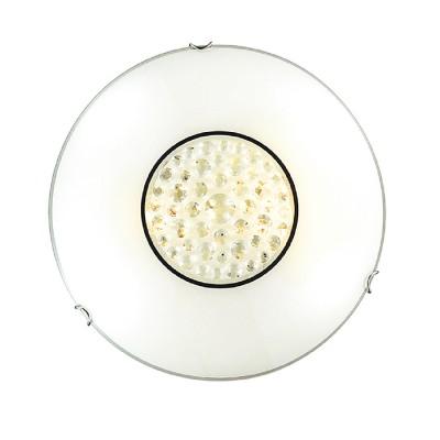 Сонекс LAKRIMA 128/К настенно-потолочный светильникКруглые<br><br><br>Тип лампы: Накаливания / энергосбережения / светодиодная<br>Тип цоколя: E27<br>Количество ламп: 2<br>MAX мощность ламп, Вт: 60<br>Диаметр, мм мм: 300<br>Высота, мм: 100