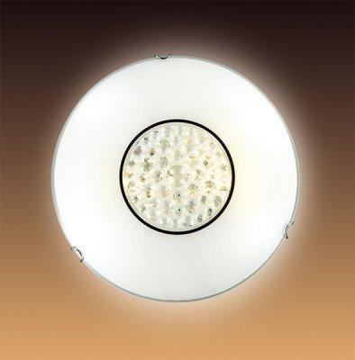 Светильник Сонекс 128Круглые<br><br><br>S освещ. до, м2: 6<br>Тип товара: Светильник настенно-потолочный<br>Тип лампы: накаливания / энергосбережения / LED-светодиодная<br>Тип цоколя: E27<br>Количество ламп: 1<br>MAX мощность ламп, Вт: 100<br>Диаметр, мм мм: 300<br>Цвет арматуры: серебристый