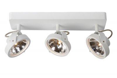 Lucide 12930/23/31 TALAАрхив<br>Светильники-споты – это оригинальные изделия с современным дизайном. Они позволяют не ограничивать свою фантазию при выборе освещения для интерьера. Такие модели обеспечивают достаточно качественный свет. Благодаря компактным размерам Вы можете использовать несколько спотов для одного помещения.  Интернет-магазин «Светодом» предлагает необычный светильник-спот Lucide 12930/23/31 по привлекательной цене. Эта модель станет отличным дополнением к люстре, выполненной в том же стиле. Перед оформлением заказа изучите характеристики изделия.  Купить светильник-спот Lucide 12930/23/31 в нашем онлайн-магазине Вы можете либо с помощью формы на сайте, либо по указанным выше телефонам. Обратите внимание, что мы предлагаем доставку не только по Москве и Екатеринбургу, но и всем остальным российским городам.<br><br>S освещ. до, м2: 10<br>Тип лампы: галогенная / LED-светодиодная<br>Цвет арматуры: белый<br>Количество ламп: 3<br>Ширина, мм: 120<br>Длина, мм: 440<br>Высота, мм: 160<br>MAX мощность ламп, Вт: 50