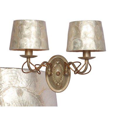 Светильник бра Favourite 1302-2WСовременные<br><br><br>S освещ. до, м2: 5<br>Тип лампы: накаливания / энергосбережения / LED-светодиодная<br>Тип цоколя: E14<br>Количество ламп: 2<br>Ширина, мм: 300<br>MAX мощность ламп, Вт: 40<br>Диаметр, мм мм: 250<br>Размеры: W300*H280*D250<br>Высота, мм: 280<br>Цвет арматуры: белый