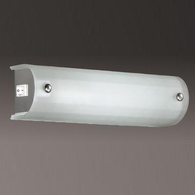 Светильник Сонекс 1302Длинные<br><br><br>S освещ. до, м2: 2<br>Тип лампы: накаливания / энергосбережения / LED-светодиодная<br>Тип цоколя: E14<br>Количество ламп: 1<br>Ширина, мм: 250<br>MAX мощность ламп, Вт: 40<br>Высота, мм: 70<br>Цвет арматуры: серебристый