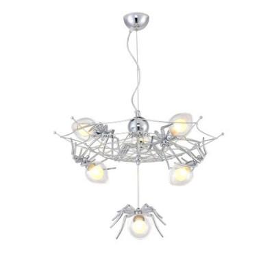 Светильник Divinare 1308/02 SP-6Подвесные<br><br><br>S освещ. до, м2: 12<br>Тип лампы: галогенная/LED<br>Тип цоколя: G9<br>Количество ламп: 6<br>MAX мощность ламп, Вт: 40W
