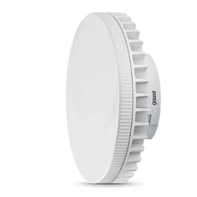 Лампа Gauss LED GX70 12W AC150-265V 4100K/40С цоколем GX70<br>В интернет-магазине «Светодом» можно купить не только люстры и светильники, но и лампочки. В нашем каталоге представлены светодиодные, галогенные, энергосберегающие модели и лампы накаливания. В ассортименте имеются изделия разной мощности, поэтому у нас Вы сможете приобрести все необходимое для освещения.   Лампа Gauss 131016212 обеспечит отличное качество освещения. При покупке ознакомьтесь с параметрами в разделе «Характеристики», чтобы не ошибиться в выборе. Там же указано, для каких осветительных приборов Вы можете использовать лампу Gauss 131016212Gauss 131016212.   Для оформления покупки воспользуйтесь «Корзиной». При наличии вопросов Вы можете позвонить нашим менеджерам по одному из контактных номеров. Мы доставляем заказы в Москву, Екатеринбург и другие города России.<br><br>Цветовая t, К: CW - холодный белый 4000 К<br>Тип лампы: LED - светодиодная<br>Тип цоколя: GX70<br>MAX мощность ламп, Вт: 12<br>Диаметр, мм мм: 110<br>Высота, мм: 37