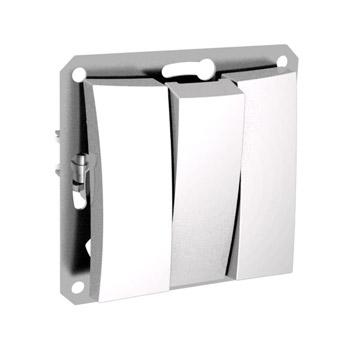 Lexel Дут белый Трехклавишный выклчатель (сх.3) (SE WDE000131)Белый<br><br><br>Оттенок (цвет): белый